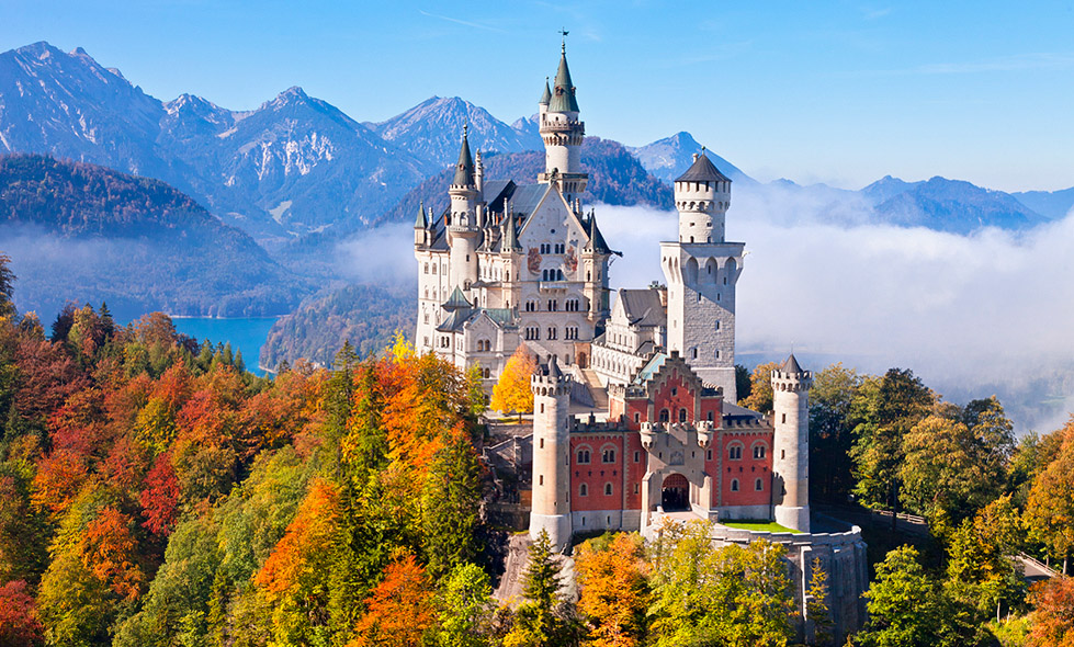 45lovers famous castles in germany. Black Bedroom Furniture Sets. Home Design Ideas